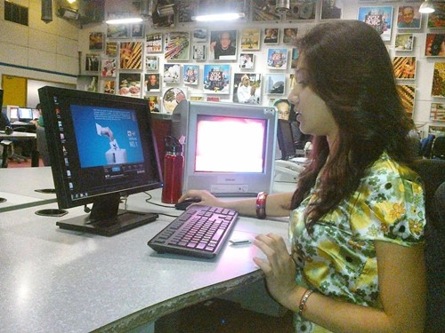 Donal Bisht while working for DD News