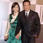 Gawa Denzongpa with her husband Danny Denzongpa