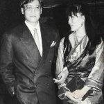Gawa Denzongpa with her husband Danny Denzongpa in early 1990s