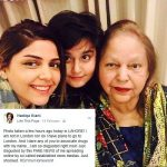 Hadiqa Kiani Clears The Rumour About Her Detention At The Heathrow Airport