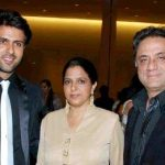 Harman Baweja with his parents