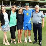 Hilton Cartwright With His Family and Partner (C)