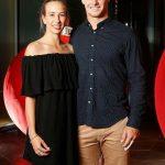 Hilton Cartwright With His Partner Cherina Christian Murphy