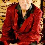 Hugh Hefner - Velvet jacket and Pajamas