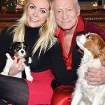 Hugh Hefner, a pet lover