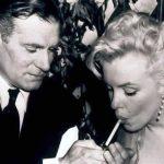 Hugh Hefner with Marilyn Monroe