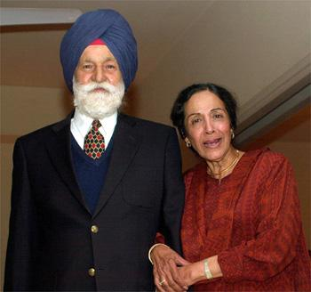 Image result for air force arjan singh with wife