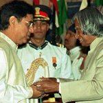 Jagjit Singh With Padma Bhushan