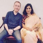 Jamie Alter with his wife, Meha Bhardwaj