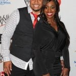 Jimmy Uso with wife Naomi
