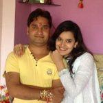 Jiya Chauhan with brother
