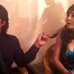 Karishma Manandhar with Rajesh Hamal