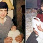 Kate Middleton In The Lap Of Her Father And Mother