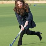 Kate Middleton Playing Hockey