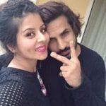 Krrip Kapur Suri with wife
