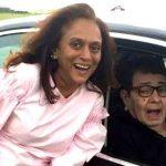 Krutika Desai with her Husband