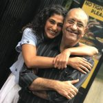 Kubra Sait with her father