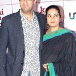 Kunaal Roy Kapur with his wife