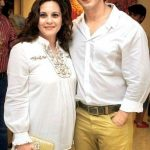Manasi Joshi Roy with her brother Sharman Joshi