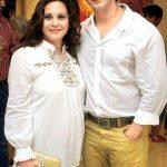 Manasi Joshi Roy with her brother Sharman Joshi