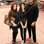 Manasi Joshi Roy with her husband Rohit Roy and daughter Kiara Bose Roy