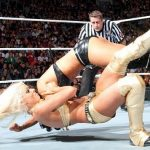 Maryse French Kiss finisher