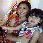 Naveen Saini wife and daughter