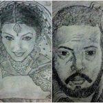 Neeshant Tanwar sketch work