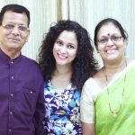 Neetha Shetty parents