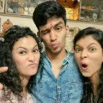 Neetha Shetty siblings