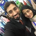 Nouman Ali Khan with his mother