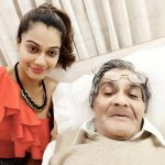 Payal Rohatgi with her father Shashank Rohatgi
