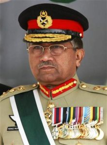 Pervez Musharraf As Chief of Army Staff