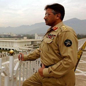 Pervez Musharraf As Major General
