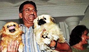Pervez Musharraf Loves Dogs