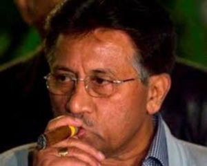 Pervez Musharraf Smoking