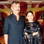 Deepti Naval with her Ex-husband Prakash Jha