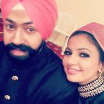 Preet Kaur with her brother