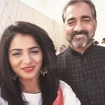 Qurat-ul-Ain Balouch With Her Father