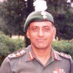 Rajyavardhan Singh Rathore father