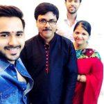 Randeep Rai with his family