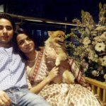 Rangoli Chandel - a dog lover