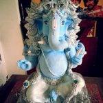 Raqesh Vashisth sculpted Ganesh Idol