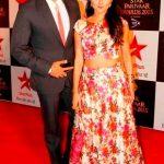 Raqesh Vashisth with his wife Riddhi Dogra