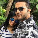 Lalit Bisht with girlfriend