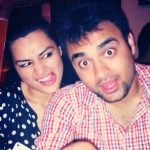 Renee Dhyani with brother