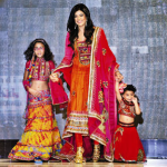 Renee Sen with Sushmita Sen and Alisah Sen