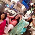 Reshma Tipnis On The Sets Of Serial Satrangi Sasural