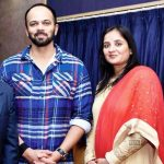 Rohit Shetty With His Wife