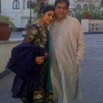 Rubika Liyaquat With Her Father